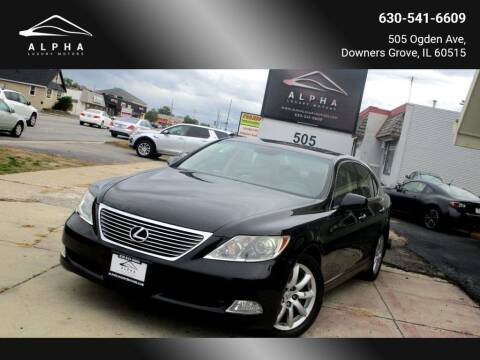 2007 Lexus LS 460 for sale at Alpha Luxury Motors in Downers Grove IL