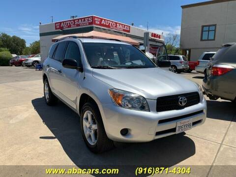 2007 Toyota RAV4 for sale at About New Auto Sales in Lincoln CA