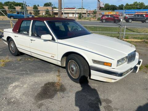 1989 Cadillac Seville for sale at University Auto Sales of Little Rock in Little Rock AR