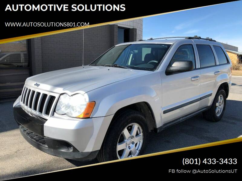 2009 Jeep Grand Cherokee for sale at AUTOMOTIVE SOLUTIONS in Salt Lake City UT