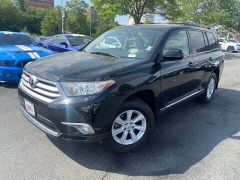 2013 Toyota Highlander for sale at Sonias Auto Sales in Worcester MA