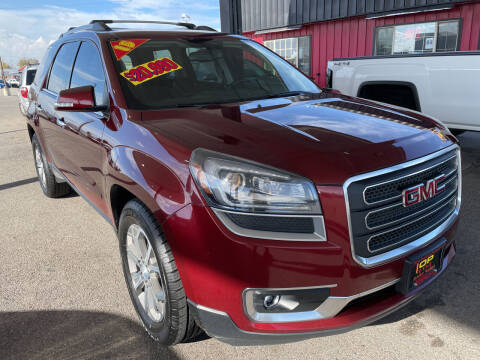2015 GMC Acadia for sale at Top Line Auto Sales in Idaho Falls ID