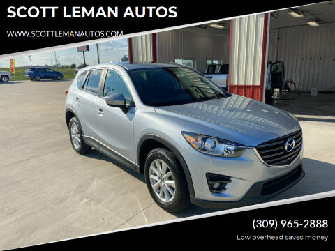 2016 Mazda CX-5 for sale at SCOTT LEMAN AUTOS in Goodfield IL
