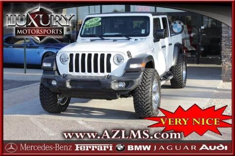 2020 Jeep Gladiator for sale at Luxury Motorsports in Phoenix AZ