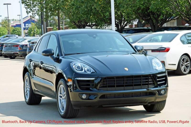 2018 Porsche Macan for sale at Silver Star Motorcars in Dallas TX