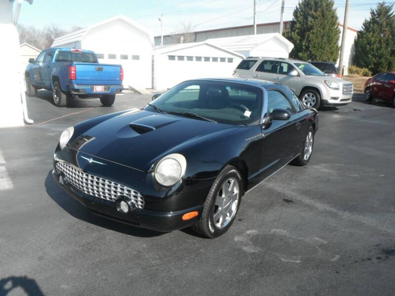 2002 Ford Thunderbird for sale at Morelock Motors INC in Maryville TN
