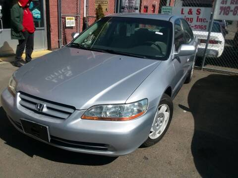 2002 Honda Accord for sale at International Auto Sales Inc in Staten Island NY