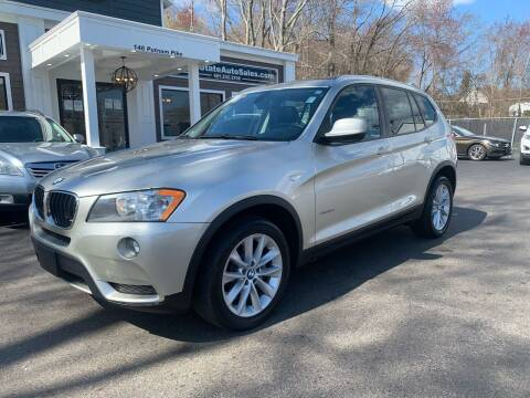 2013 BMW X3 for sale at Ocean State Auto Sales in Johnston RI