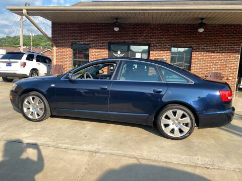 2006 Audi A6 for sale at Triple J Automotive in Erwin TN