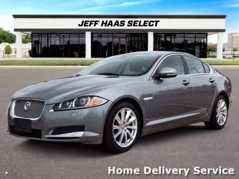 2015 Jaguar XF for sale at JEFF HAAS MAZDA in Houston TX