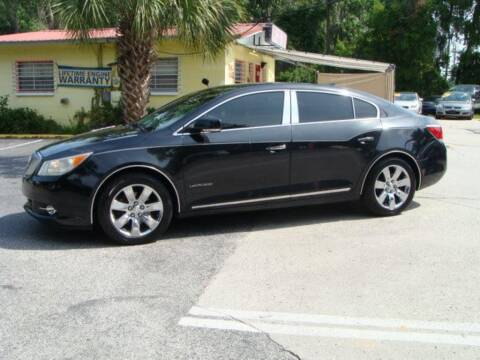 2010 Buick LaCrosse for sale at VANS CARS AND TRUCKS in Brooksville FL