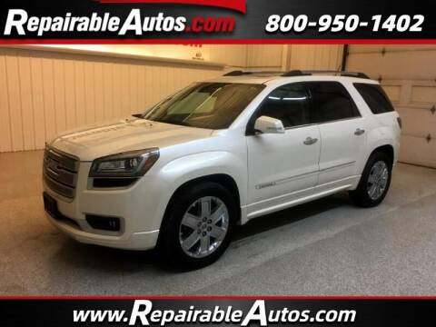 2014 GMC Acadia for sale at Ken's Auto in Strasburg ND