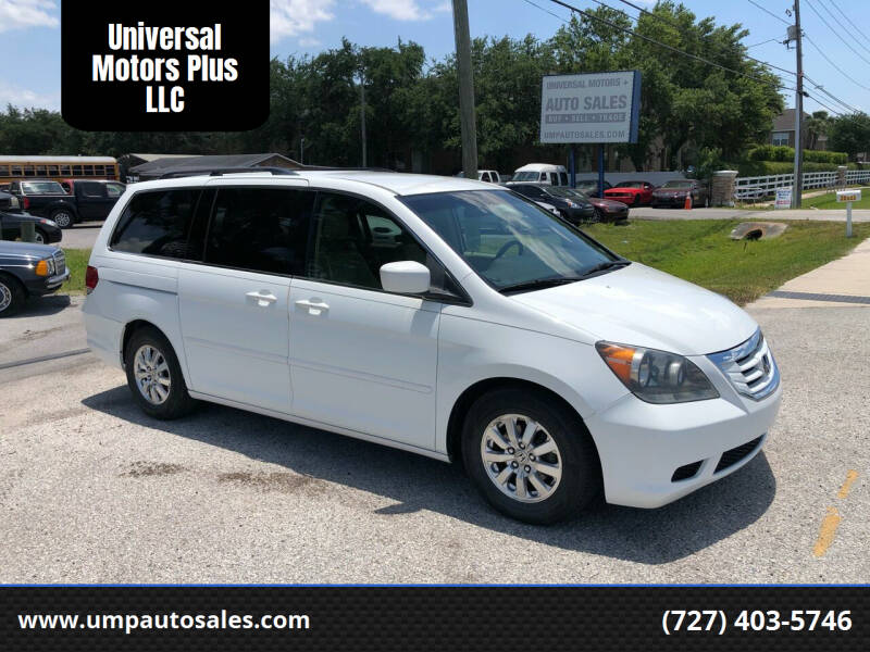 2010 Honda Odyssey for sale at Universal Motors Plus LLC in Largo FL