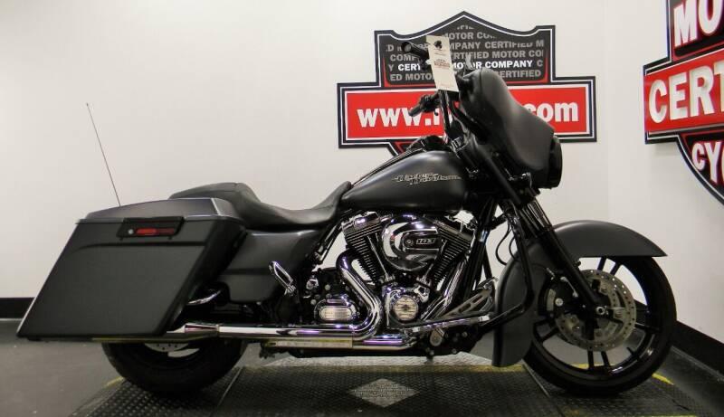 2013 Harley-Davidson Street Glide for sale at Certified Motor Company in Las Vegas NV