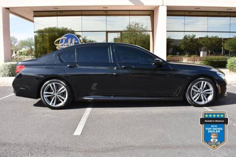 2017 BMW 7 Series for sale at GOLDIES MOTORS in Phoenix AZ