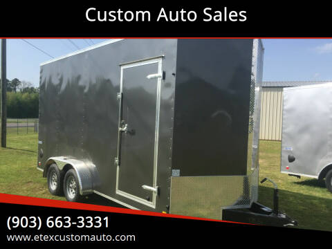 2021 Continental Cargo 7x16 Enclosed Tandem Axle for sale at Custom Auto Sales - TRAILERS in Longview TX