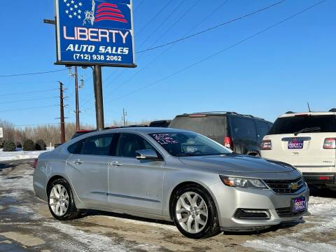 2014 Chevrolet Impala for sale at Liberty Auto Sales in Merrill IA