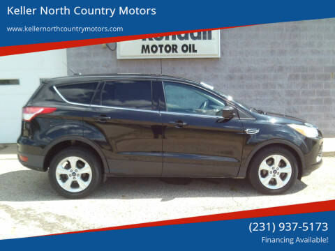 2015 Ford Escape for sale at Keller North Country Motors in Howard City MI