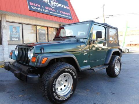 1999 Jeep Wrangler for sale at Super Sports & Imports in Jonesville NC