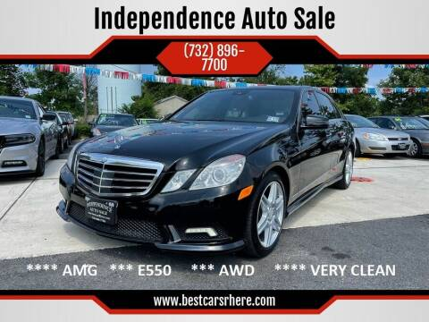 2010 Mercedes-Benz E-Class for sale at Independence Auto Sale in Bordentown NJ