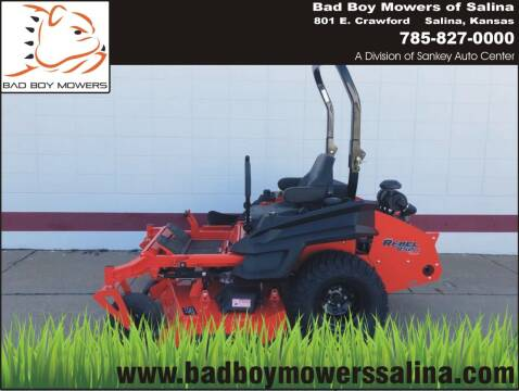 Bad Boy Rebel 61  for sale at Bad Boy Mowers Salina in Salina KS