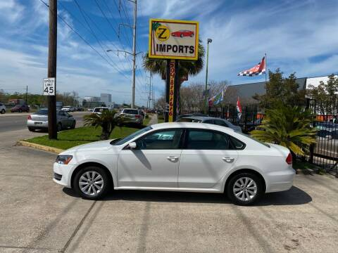 2013 Volkswagen Passat for sale at A to Z IMPORTS in Metairie LA