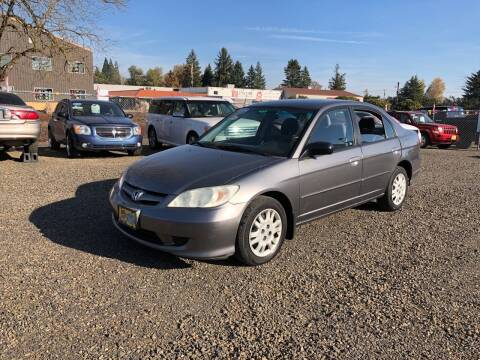 2005 Honda Civic for sale at McMinnville Auto Sales LLC in Mcminnville OR