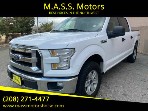 2017 Ford F-150 for sale at M.A.S.S. Motors in Boise ID