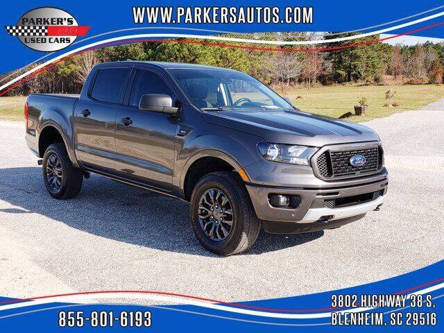 2019 Ford Ranger for sale at Parker's Used Cars in Blenheim SC