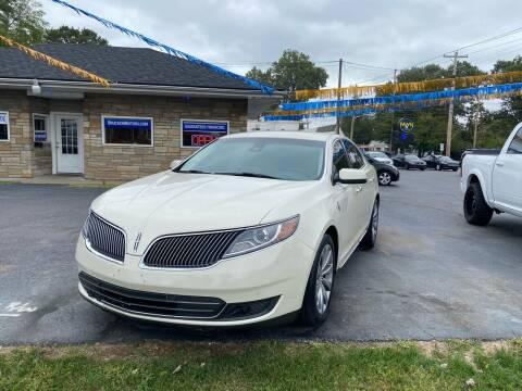 2015 Lincoln MKS for sale at Brucken Motors in Evansville IN
