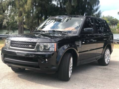 2011 Land Rover Range Rover Sport for sale at CAR UZD in Miami FL