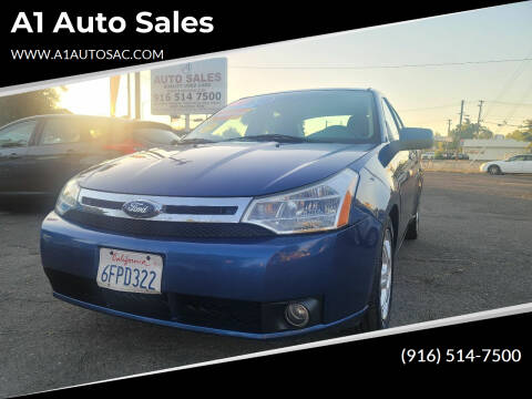 2008 Ford Focus for sale at A1 Auto Sales in Sacramento CA
