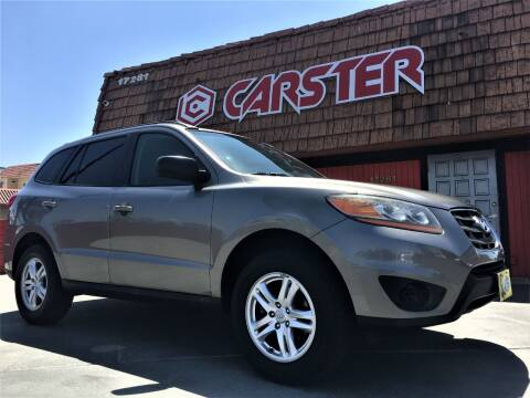 2011 Hyundai Santa Fe for sale at CARSTER in Huntington Beach CA