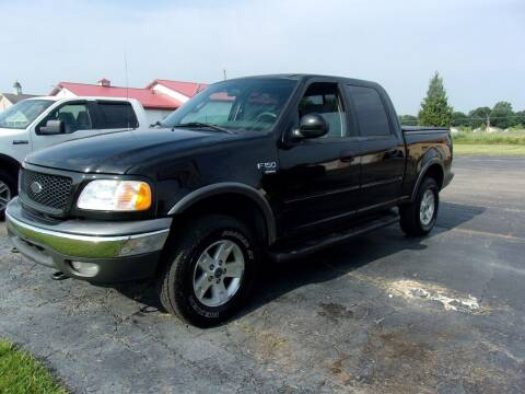 2003 Ford F-150 for sale at DAVE KNAPP USED CARS in Lapeer MI