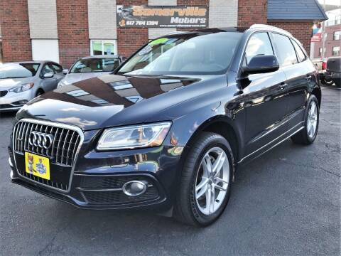 2014 Audi Q5 for sale at Somerville Motors in Somerville MA