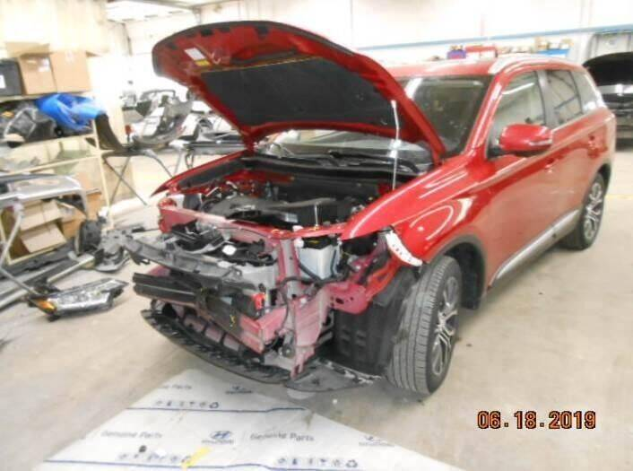 2017 Mitsubishi Outlander for sale at CousineauCrashed.com in Weston WI