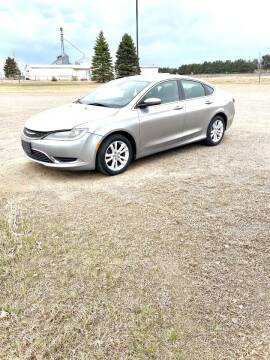 2015 Chrysler 200 for sale at Rice Auto Sales in Rice MN