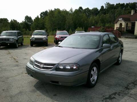 2005 Chevrolet Impala for sale at Route 111 Auto Sales in Hampstead NH