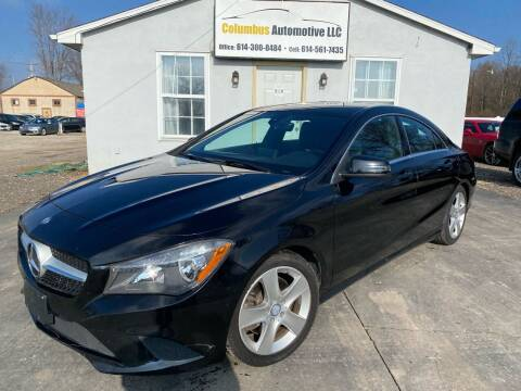 2015 Mercedes-Benz CLA for sale at COLUMBUS AUTOMOTIVE in Reynoldsburg OH