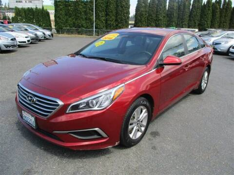 2016 Hyundai Sonata for sale at GMA Of Everett in Everett WA