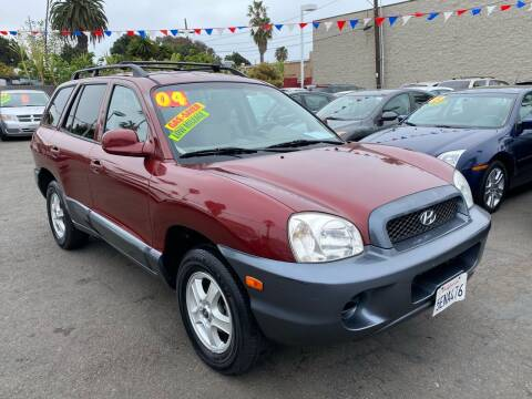 2004 Hyundai Santa Fe for sale at North County Auto in Oceanside CA