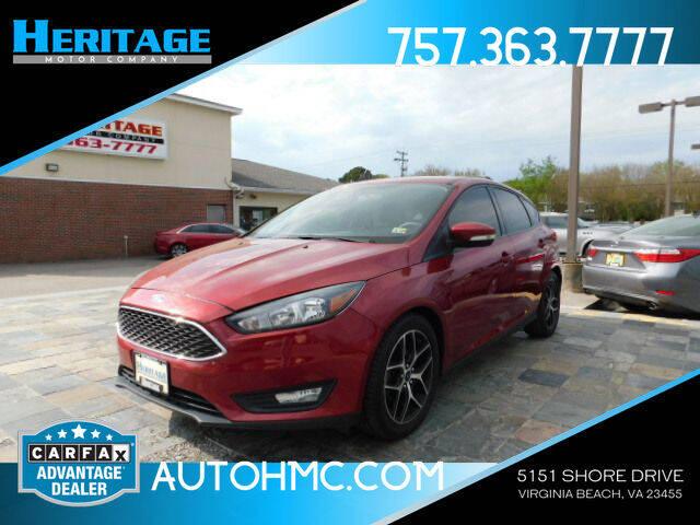 2017 Ford Focus for sale in Virginia Beach, VA
