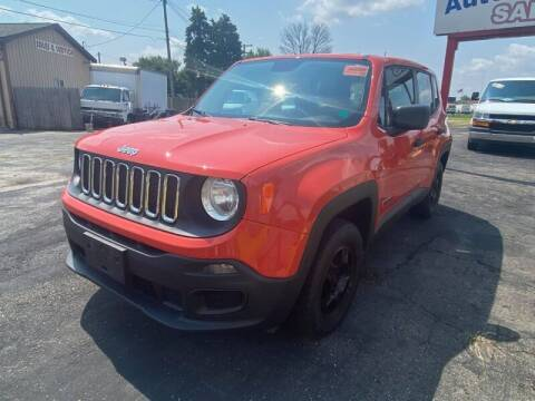 2015 Jeep Renegade for sale at Groesbeck TRUCK SALES LLC in Mount Clemens MI