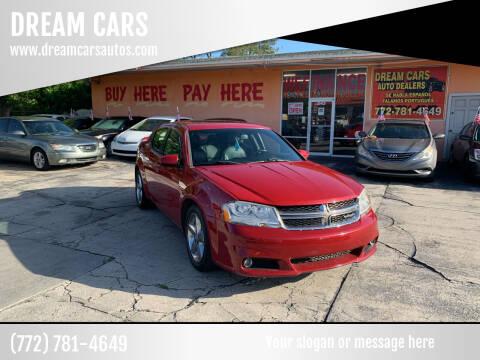 2011 Dodge Avenger for sale at DREAM CARS in Stuart FL