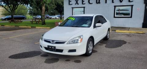 2006 Honda Accord for sale at Executive Automotive Service of Ocala in Ocala FL