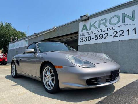 2003 Porsche Boxster for sale at Akron Motorcars Inc. in Akron OH