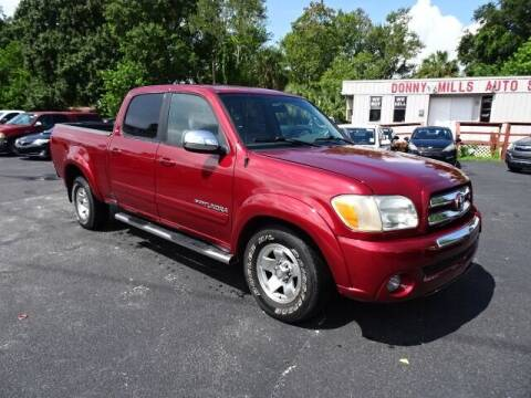 2006 Toyota Tundra for sale at DONNY MILLS AUTO SALES in Largo FL