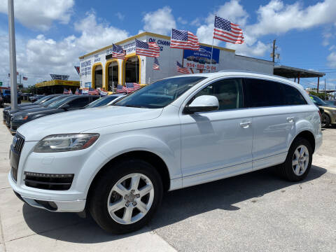 2013 Audi Q7 for sale at INTERNATIONAL AUTO BROKERS INC in Hollywood FL