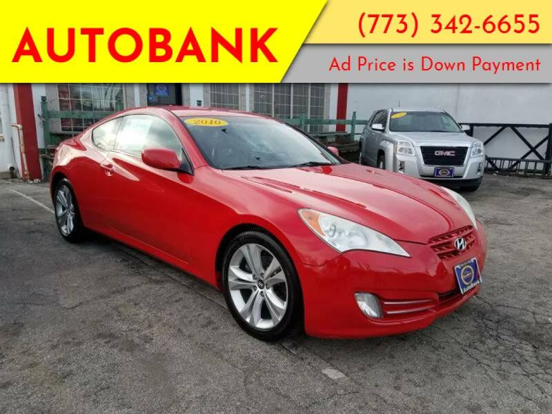 2010 Hyundai Genesis Coupe for sale at AutoBank in Chicago IL