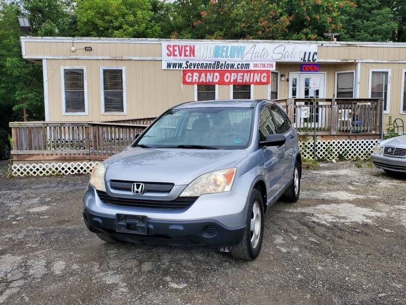 2008 Honda CR-V for sale at Seven and Below Auto Sales, LLC in Rockville MD